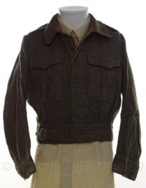 WO2 Brits Canadese uniform Ike jas 1954 - origineel naoorlogs