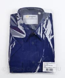 Kazerne overhemd KM heren donkerblauw - nieuw in de verpakking - 39/40 - origineel