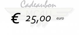 25 euro kadobon