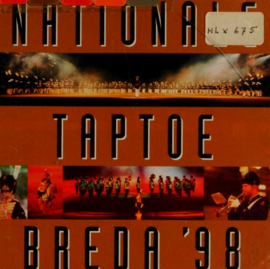 CD Nationale Taptoe Breda 1998 - 22 liederen - origineel