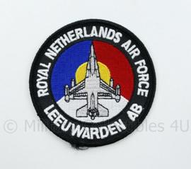 KLU Luchtmacht RNLAF Royal Netherlands Air Force Leeuwarden AB -  diameter 10 cm  - origineel