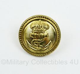 Koninklijke Marine grote uniform knoop 24 mm - origineel