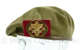 KL baret met insigne Intendance jaren 50 - maat 57 - origineel