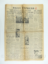 Daily Express krant - 28 May 1945 - origineel