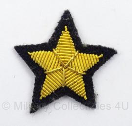 WO2 Duitse Kriegsmarine Officier rangster - voor op onderarm - afmeting 3 x 3 cm - replica
