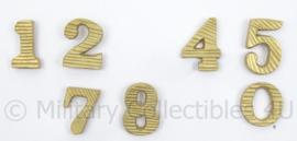 WO2 Duitse epaulet cyphers patina schouderstukken SET - 2,2 cm - verkoop per paar