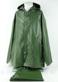 KL Landmacht en KLu Luchtmacht PVC jas en broek set - maat XL - origineel