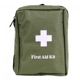 First aid tas groen - met inhoud