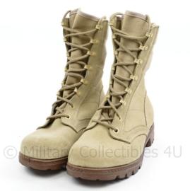 Nederlands leger desert schoenen met gleuf in de hak - zeldzaam - maat 260B = 41B - wrigineel