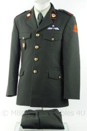KL Landmacht Van Heutsz Luchtmobiele Brigade DT2000 uniform jas en broek - met insignes - maat 48 - origineel