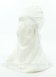 Korps Mariniers Nomex hood met mondmasker wit - origineel