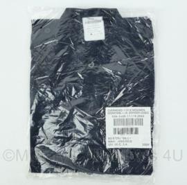 Defensie donkerblauw overhemd met korte mouw zonder logo - NIEUW in verpakking - maat 6080/0005 - origineel