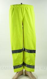 Britse Politie broek High Visibility waterproof overtrousers - meerdere maten - origineel