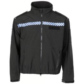 Politie Softshell jack - met klittenband vlakken voor en achter! - meerdere maten - origineel