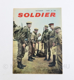 The British Army Magazine Soldier October 1959 -  30 x 22 cm - origineel