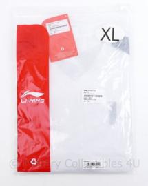 Defensie Li-ning sport longsleeve Sport shirt LS Men - maat M - nieuw in de verpakking - origineelS