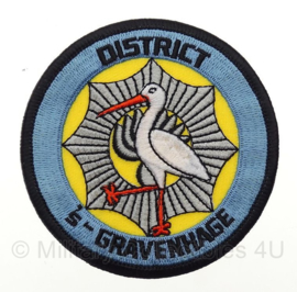 ME Embleem politie district 's-Gravenhage - origineel