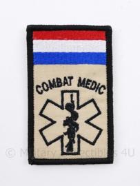 Combat Medic embleem - met klittenband - 8,5 x 5 cm