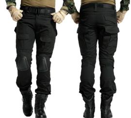 Tactical zwarte broek met kniebescherming  - KL huidig model - NIEUW in verpakking - maat 32 t/m 38 - nieuw gemaakt