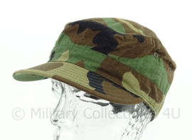 US Army woodland cap - cap hot weather - maat 7 1/8 - origineel