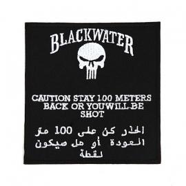 Blackwater uniform embleem groot