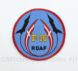 Deense leger Luchtmacht embleem RDAF F-16 -  origineel