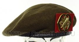KL Nederlandse leger baret intendance 1985 - maat 58 - ELO - origineel