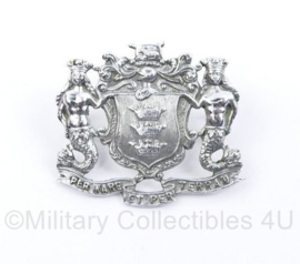 Brits pet embleem Per Mare et Per Terran Corps of Royal Marines - 3,5 x 3 cm - origineel