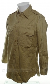 US Army khaki Officers shirt - maat 40 - naoorlogs