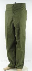 US Army Vietnam oorlog Fatique trouser - ongedragen - maat 40 waist /lengte 31 - origineel