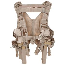 Militair leger tactical camo M95 DESERT vest met tassen - nieuwstaat - origineel