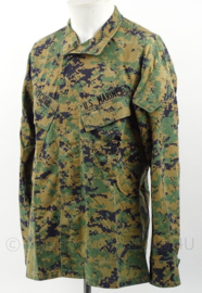 USMC US Marine Corps Marpat BDU camo jas met insignes - maat Small-short - origineel