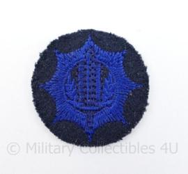 Gemeentepolitie pet embleem - diameter 4  cm - origineel