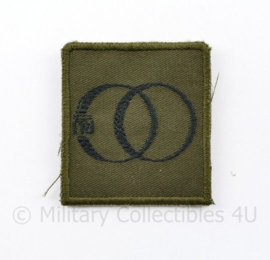 KL Nederlandse leger OC RIJ Opleidings- en Trainingscentrum Rijden borstembleem - met klittenband - 5 x 5 cm - origineel