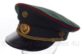 Oostenrijkse   Bundessicherheitswachekorps pet groen - maat 56 1/2 - Origineel