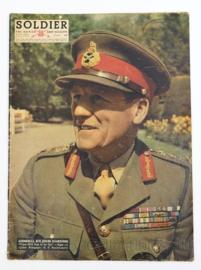 The British Army Magazine Soldier VOL 8 No 5 July 1952 -  Afkomstig uit de Nederlandse MVO bibliotheek - 30 x 22 cm - origineel