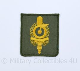 Defensie Militaire 24-uursrit embleem voor op de borst - 5 x 5 cm. - origineel