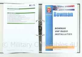 Koninklijke Marine en Korps Mariniers naslagwerk - Bowman VHF radio installaties - origineel