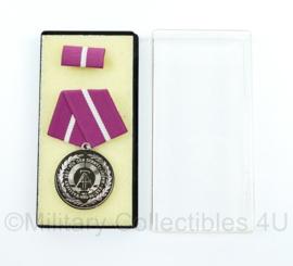 DDR medaille Für den Schutz der Arbeiter-und-Bauern-Macht inclusief doosje - ter decoratie - origineel