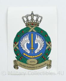 KLU Luchtmacht VOTC Sticker - vliegveiligheids- opleidings- en trainingscentrum - origineel