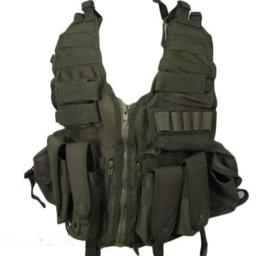 Tactical modulair gevechtsvest - MOLLE - INCLUSIEF tassen - GROEN