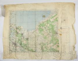 Wo2 Britse War Office Stafkaart van Utrecht uit 1943 - Schaal 1:50000 -  73 x 97 cm - origineel
