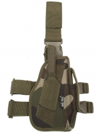 Holster laag RECHTS drop leg holster CCE camo