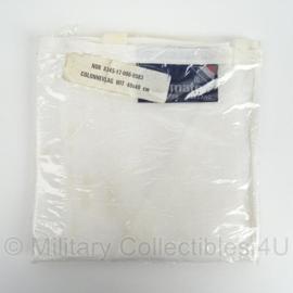 KL Landmacht seinvlag - Colonne vlag - wit - 40 x 40 cm - maker: shipmate - origineel
