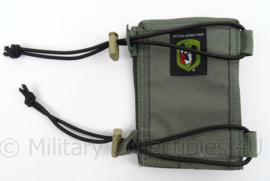 US Army Tactical Assault Gear Tac pouch arm organizer - 11 x 16 x 1,5 cm - origineel
