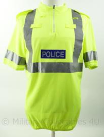 Britse Politie Police Endura Yellow shirt met portofoonlussen - maat Medium - nieuw - origineel