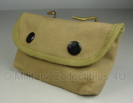 USMC 1st model khaki compass & first aid pouch