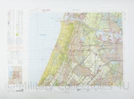 Defensie stafkaart 25 West Amsterdam M733 - schaal 1 : 50.000 -57 x 83 cm - origineel