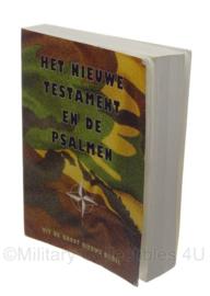 """KL Nederlandse leger boekje """"Het nieuwe testament en de Psalmen""""- origineel"""