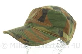 KM Korps Mariniers camo woodland pet - licht gedragen - maat 58 - nieuw gemaakt